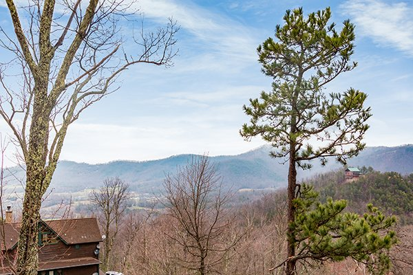 Views from at Valley View Lodge, a 3 bedroom cabin rental located in Pigeon Forge