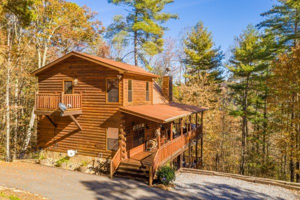 All Hours, a 2 bedroom cabin rental located in Pigeon Forge