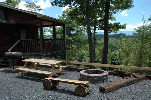 i love view a 2 bedroom cabin rental located in pigeon forge