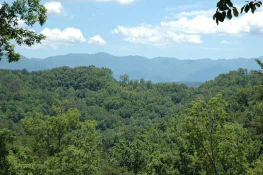 smoky mountain view from i love view a 2 bedroom cabin rental located in pigeon forge
