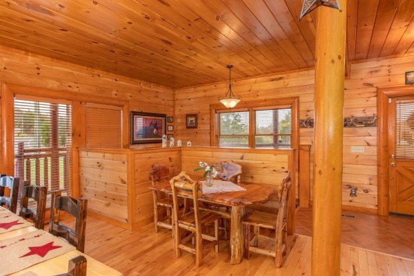 Pool'n Around in the Smokies, a 4 bedroom cabin rental located in Sevierville