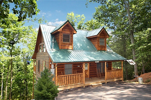Honey Bear Haven, a 1 bedroom cabin rental located in Pigeon Forge