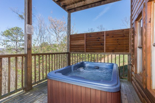 at a view to a thrill a 1 bedroom cabin rental located in pigeon forge