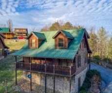 Eastern Sky, a 2-bedroom cabin rental located in Pigeon Forge