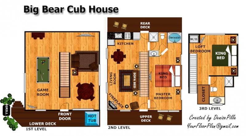 big bear cub house a gatlinburg cabin rental