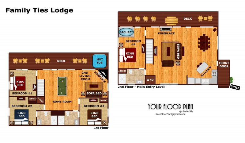 Family Ties Lodge A Pigeon Forge Cabin Rental