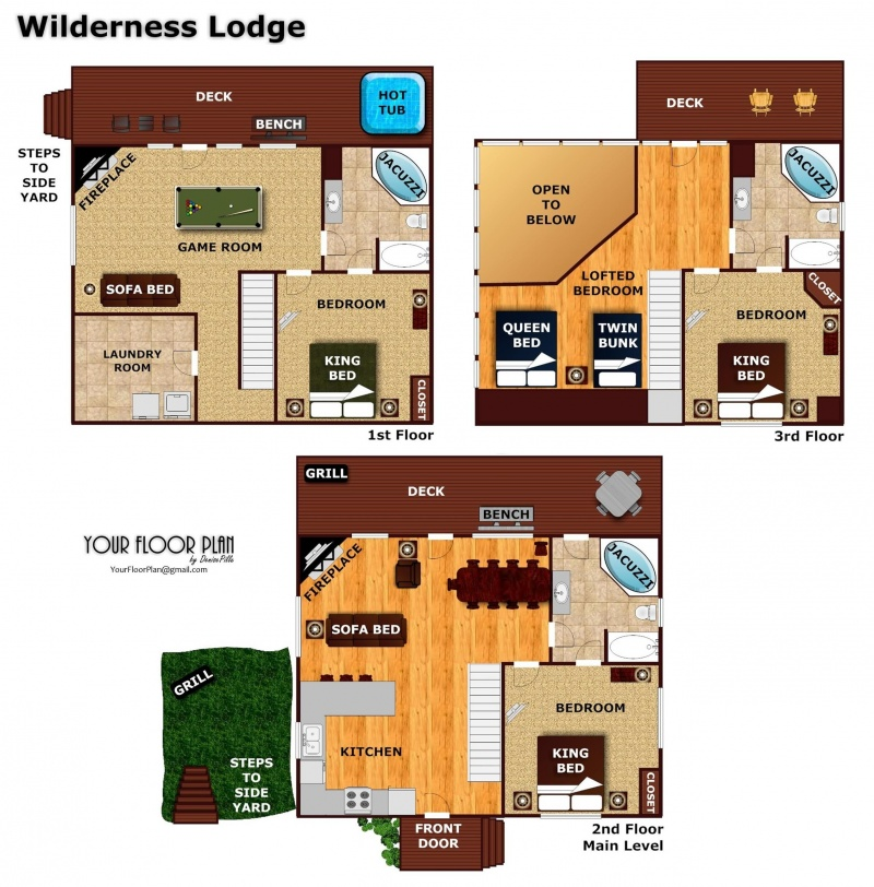Wilderness Lodge A Pigeon Forge Cabin Rental