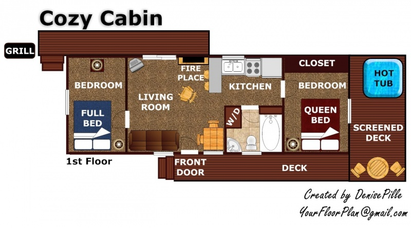 Cozy Cabin A Gatlinburg Cabin Rental