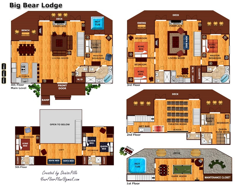 Big Bear Lodge A Gatlinburg Cabin Rental